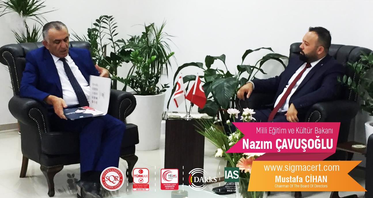 Milli Eğitim ve Kültür Bakanı – Nazım ÇAVUŞOĞLU