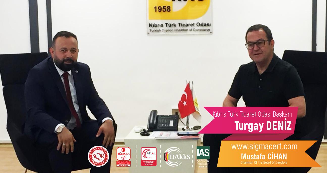 Kıbrıs Türk Ticaret Odası Başkanı – Turgay DENİZ